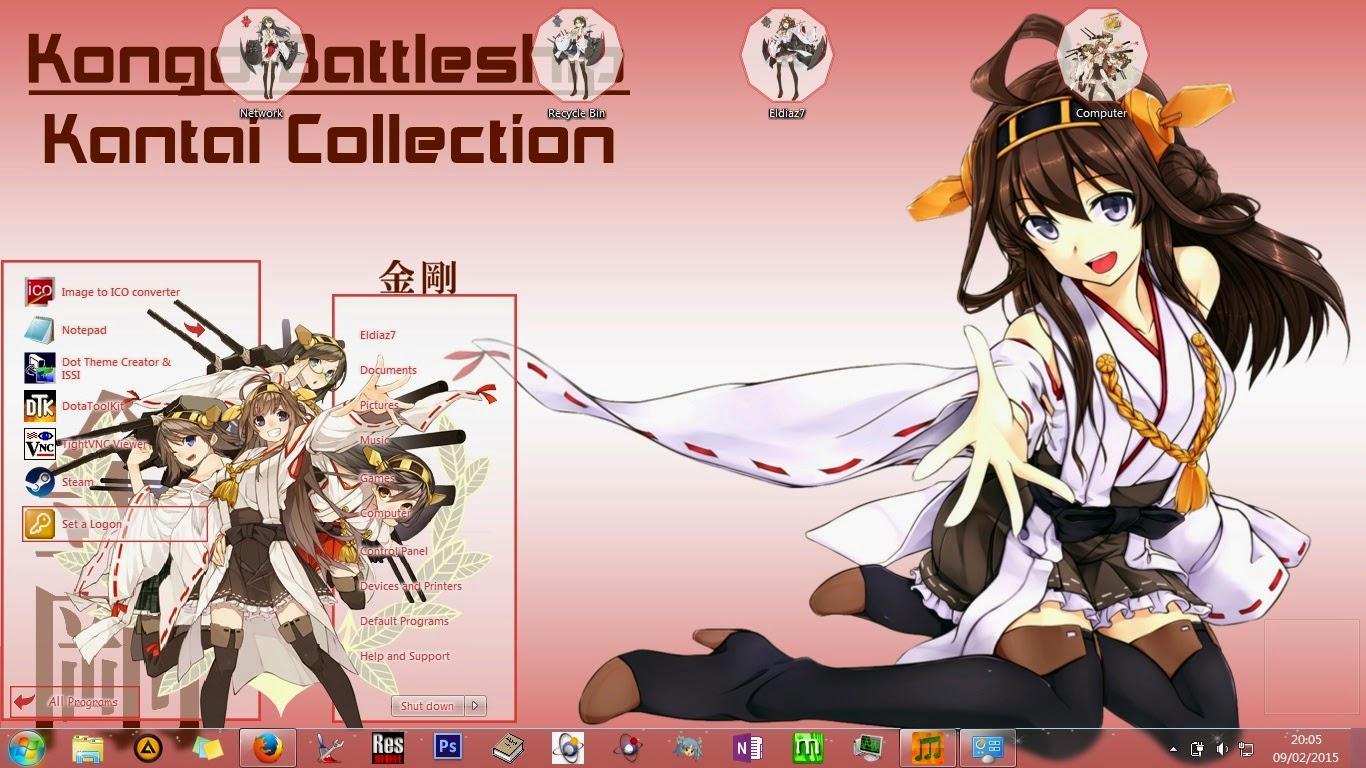 Kantai Collection Win 7 Theme