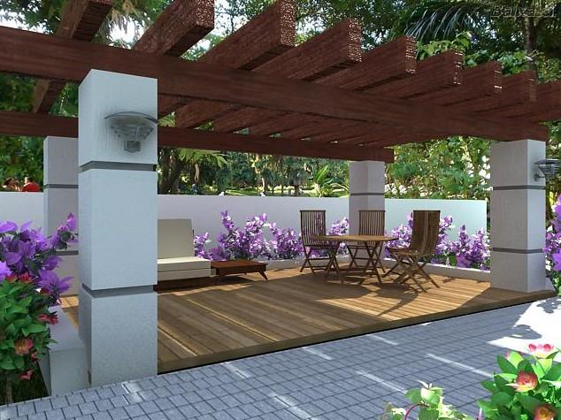Móveis para decorar varandas