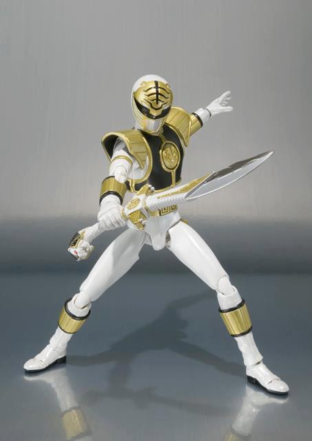 Action Figure Power Ranger Branco