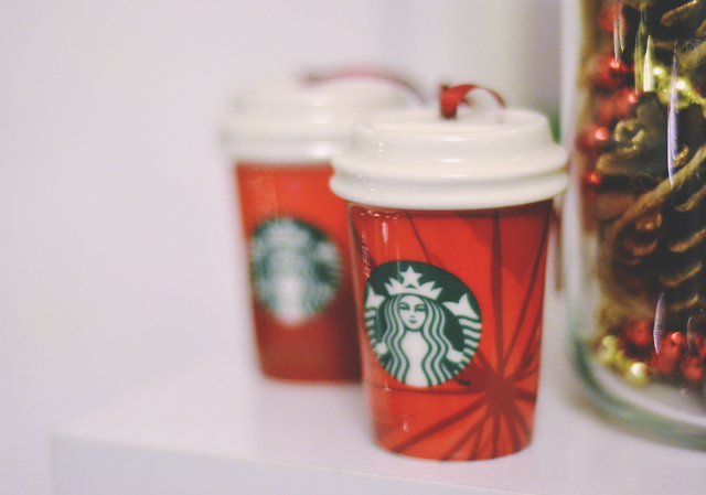 Starbucks Christmas Decoration
