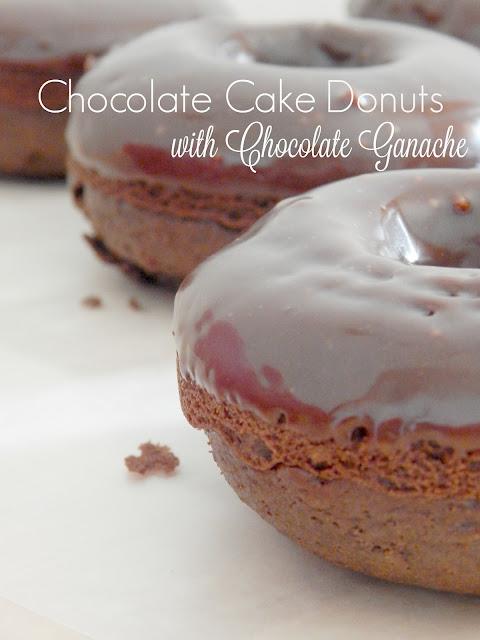chocolate cake donuts with chocolate ganache (sweetandsavoryfood.com)