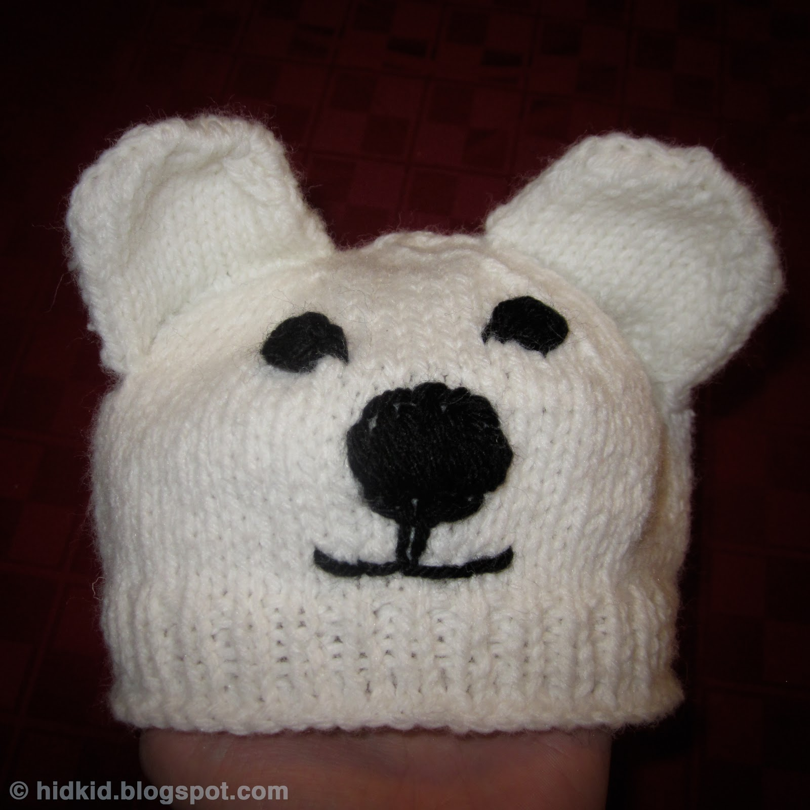Craftimism polar bear knit hat polar bear knit hat bankloansurffo Gallery