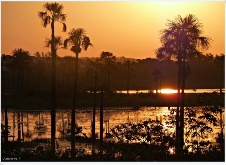 Crepúsculo na Lagoa da Prata
