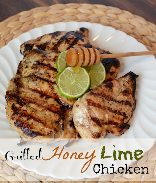 Grilled Honey Lime Chicken Breast - Bless This Mess