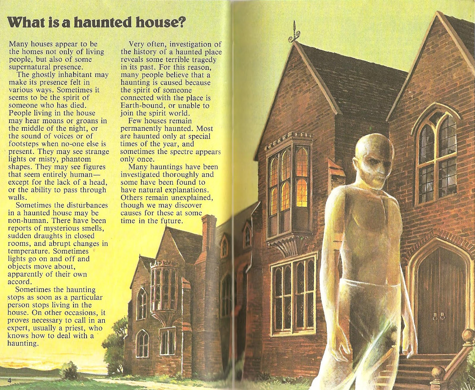 The haunted closet haunted houses ghosts spectres for Classic haunted house novels