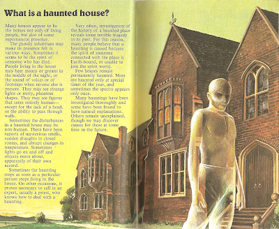 Haunted Houses Ghosts Spectres Usborne on Different Types Of Ghosts And Hauntings