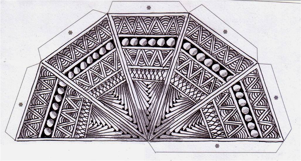 zentangle challenge 61 xplore xpress