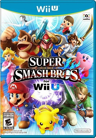 Image of box art for Super Smash Bros. for Wii U