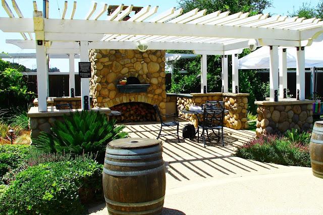 Riverbench Winery Patio Santa Maria Wine Tasting Central Coast