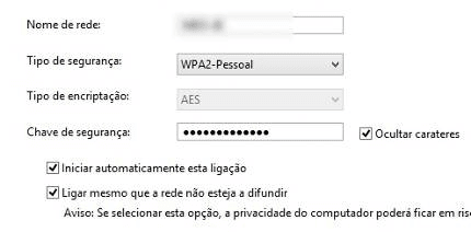 Como se conectar a uma rede Wi-Fi oculta