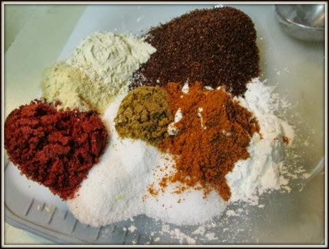 Fajita Seasoning individual spices