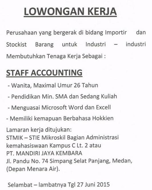 Lowongan Pekerjaan Sma Jakarta Selatan