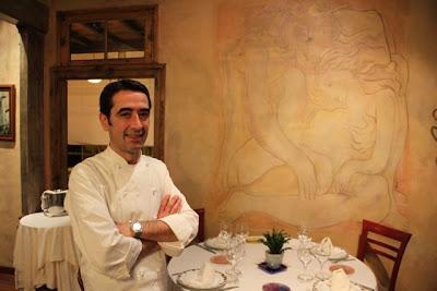 Chef José Carlos Martínez Abascal. La Corrada del Obispo. blog Esteban Capdevila