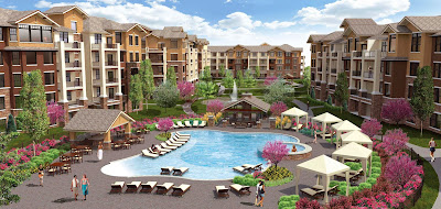 WaterCrest at City Center, multfamily site in Lenexa, Kansas