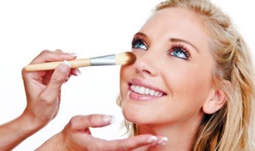 respingar la nariz con maquillaje