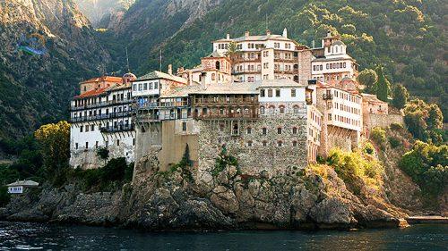 mănăstiri pe muntele athos