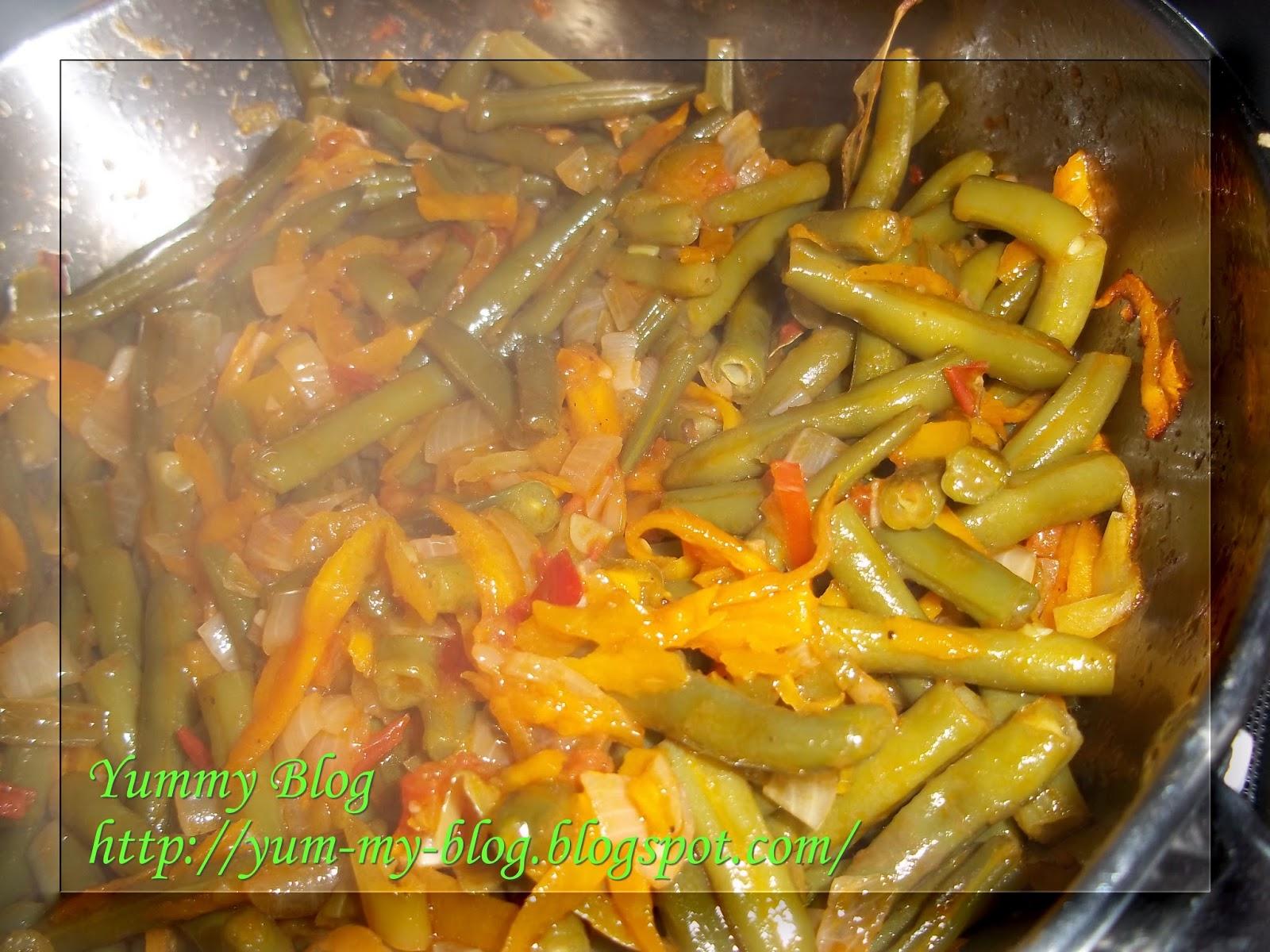 Фасоль стручковая рецепты приготовления с овощами