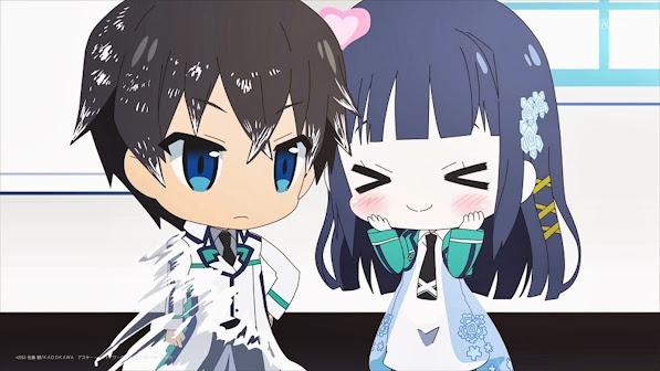 Mahouka Koukou no Rettousei Chibi Anime 7b
