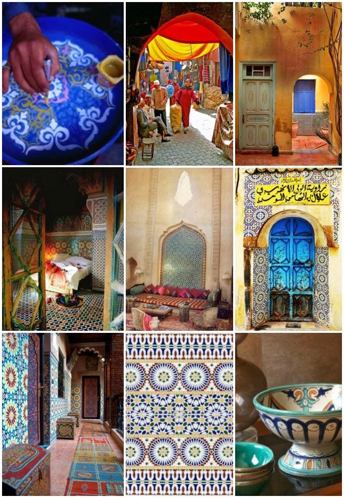 decorazioni e artigianato marocchino