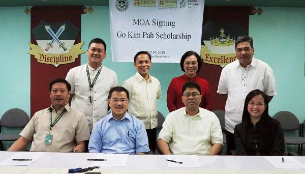 Equicom signs partnership with Saint Jude Catholic School