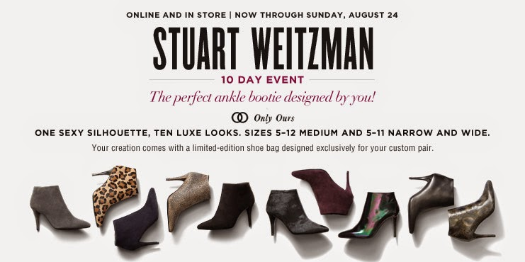Stuart Weitzman Shoe Event August 2014