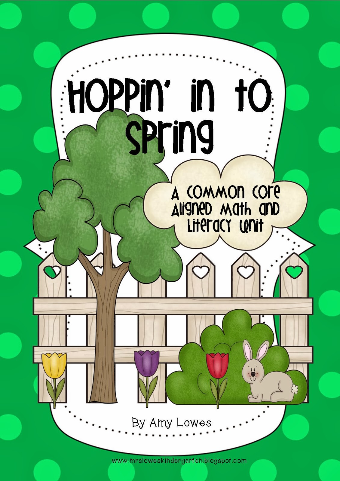 http://www.teacherspayteachers.com/Product/Hoppin-In-To-Spring-Math-and-Literacy-Unit-519131