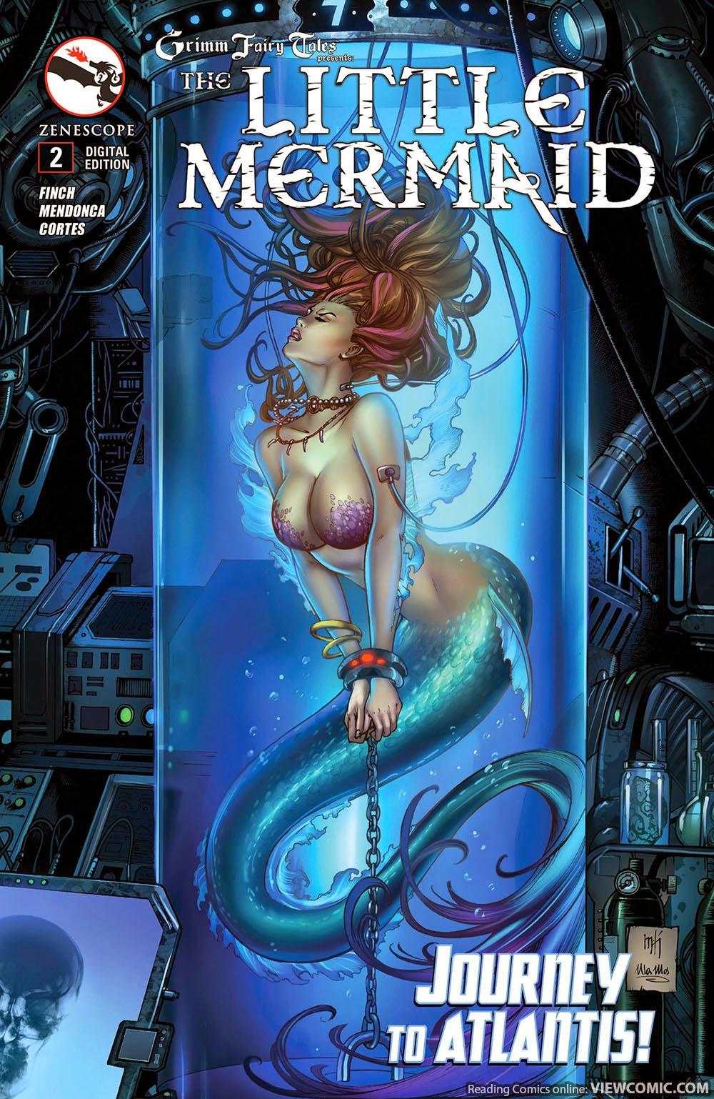 grimm fairy tales presents the little mermaid 002 (2015) | viewcomic