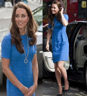 Kate Middleton Olympics necklace