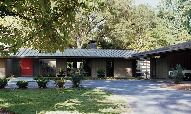 Simple L Shaped Ranch Style Homes Placement Building