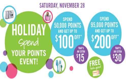 Shoppers Drug Mart Holiday Spend Your Points Event