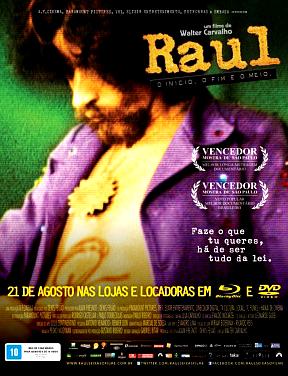 Filme Poster Raul - O Início, o Fim e o Meio DVDRip XviD & RMVB Nacional