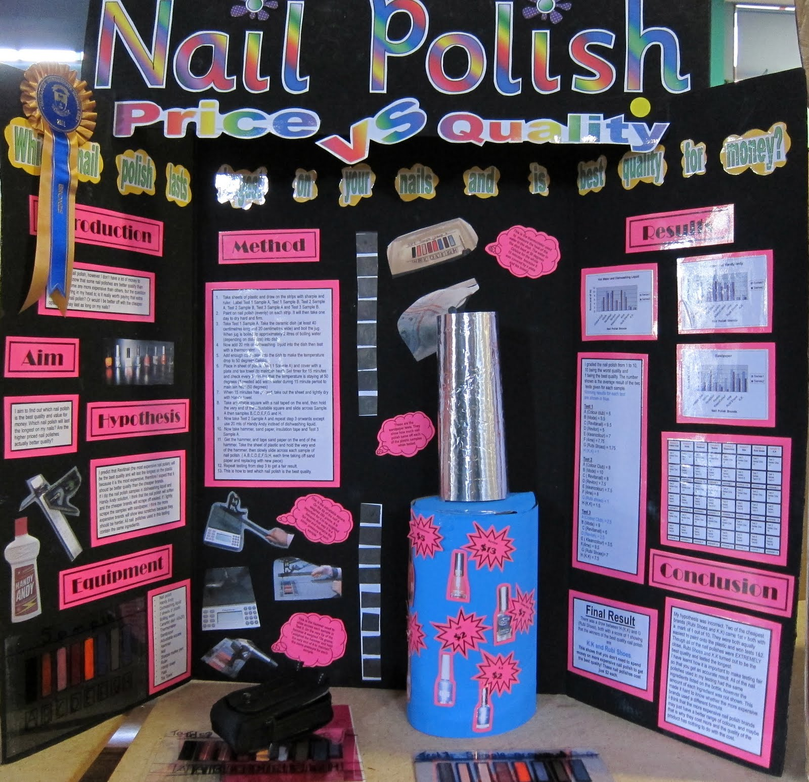Nail polish is an interesting example when you want to show the importance of chemistry in our day to day life, through unexpected examples Well, did you know that nail polish is a true chemical recipe when studied in detail?