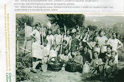 1931 - Alunas da Escola agrária da cidade de Lavis, Itália.