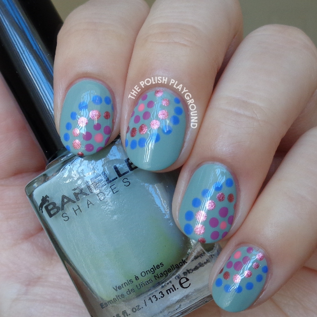 Colorful Dotticure Nail Art Inspired by Paulina's Passions