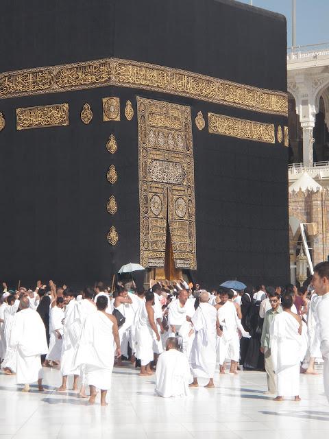 The beautiful of kaabah, masjidilharam, makkah.