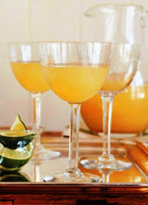 Pear Mimosas Cocktail