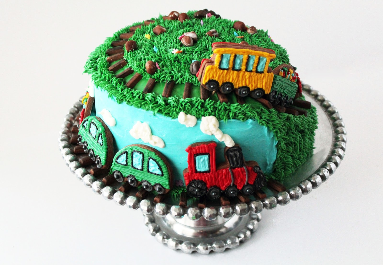 Train Birthday Cakes To Buy