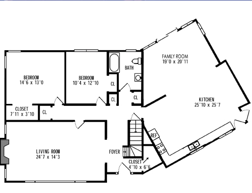 livingdining room design plan