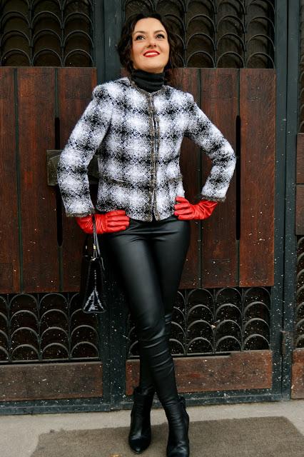 Jacheta tweed