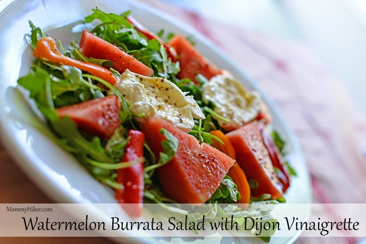 Watermelon Burrata Salad Recipe