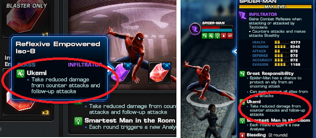 empowered ISO-8 on spider man