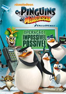Filme Poster Os Pinguins de Madagascar – Operação: Impossível Possível DVDRip XviD Dual Audio & RMVB Dublado