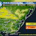 AVISO | Prob. tormentas fuertes en el N (AM Mier 16/9)