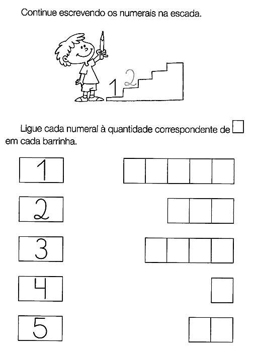 Muito Alegria de Aprender na Educação Infantil: ATIVIDADES COM NÚMERO 5 FH08