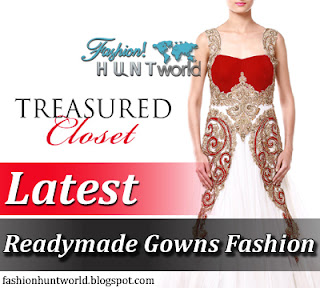 Treasured Closet By Zeeia Collection - Readymade Gowns Fashion - Party Wear Readymade Gowns