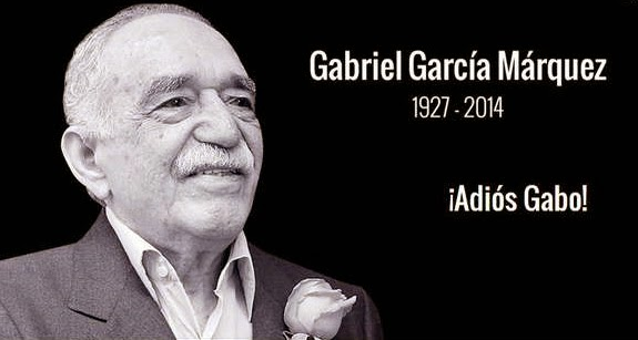 Adiós Gabo. Gracias por tu infinita Obra!!
