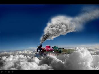 El tren de las nubes