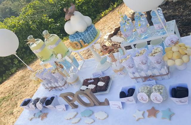 mesa dulce cumpleaños niño