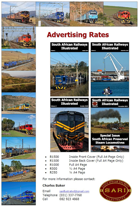 Advertise with South African Railways Illustrated