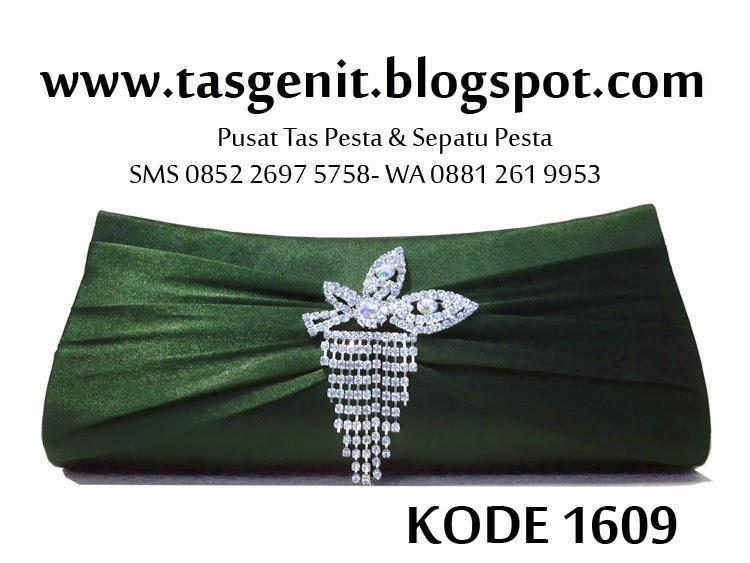 jual tas pesta murah, clutch bag cantik, dompet pesta, tas kebaya hijau
